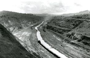 Panama Canal construction site 1