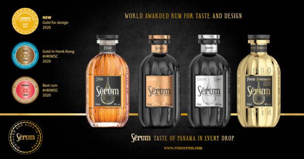 Panamian rum Sérum – inspiration and honour to Panama Canal